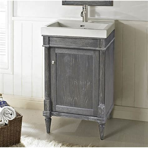 "Fairmont Designs Rustic Chic 21"" Vanity   Silvered Oak"