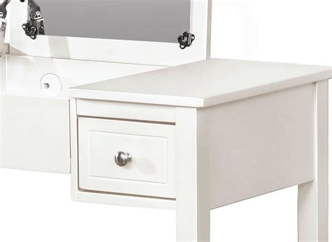 linon home decor vanity set butterfly bench