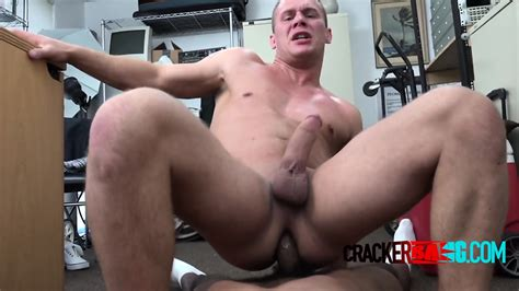 Interracial Gay Hardcore Sex In The Office With Virgin Ass