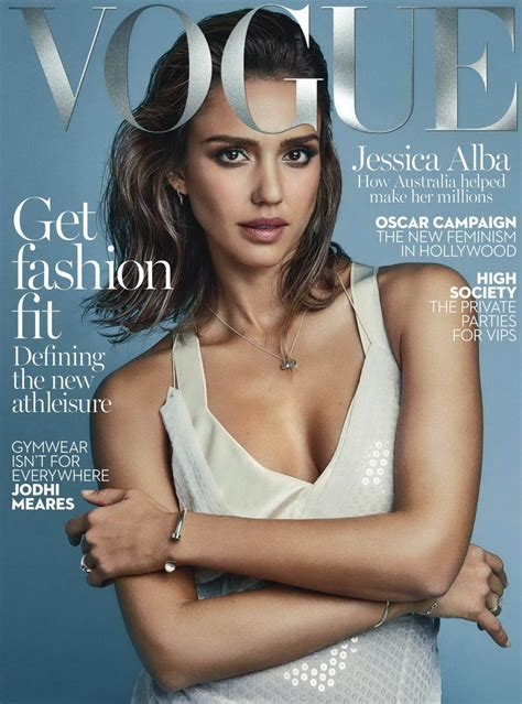 On The Cover Of Vogue This February by Alba In Vogue Australia Magazine February 2016