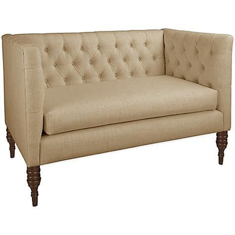 skyline settee skyline furniture tufted settee www bedbathandbeyond com