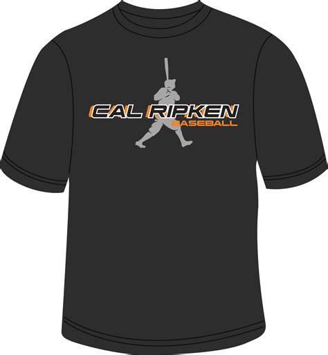 Tshirt Cal Ripcen ruth league store ruth silhouette t shirt