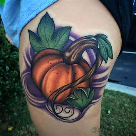 now or never tattoo festive pumpkin by dax cartwright of now or never