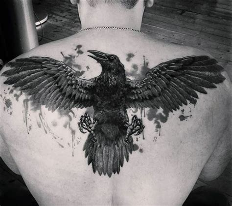 raven wing tattoo tattoos for ideas and inspiration for guys