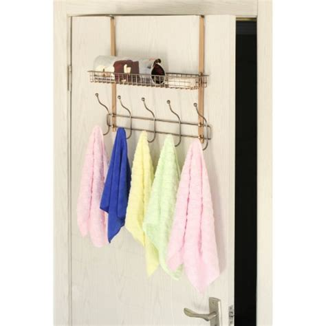 The Door Clothes Rack by Adjustable Width The Door Bronze Metal Clothing Rack