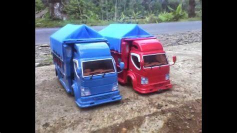 membuat mobil bus dari kardus miniatur truk ala diyn kreasi youtube