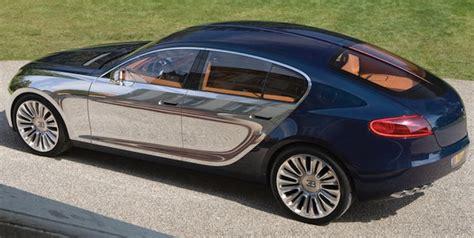 Bugatti 4 Door by Report Bugatti Galibier Four Door Delayed Once Again