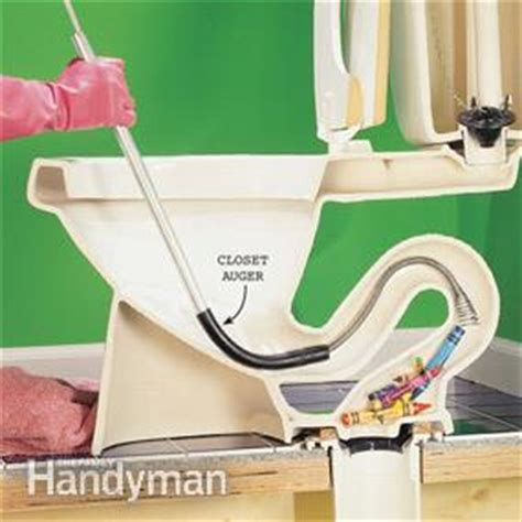 Commode Not Flushing Completely by How To Fix A Clogged Toilet The Family Handyman
