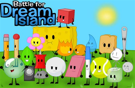 (Re Draw) Battle for Dream Island all Characters by Carol2015 on DeviantArt