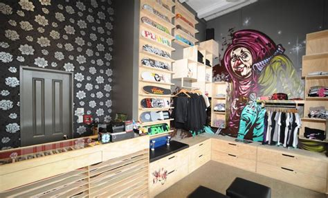 skate shop fit out k rd auckland retail spaces