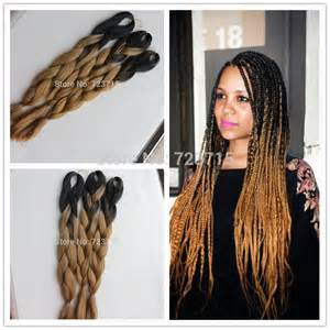ombre braiding hair 10pieces lot ombre braiding hair 24 100g xpression