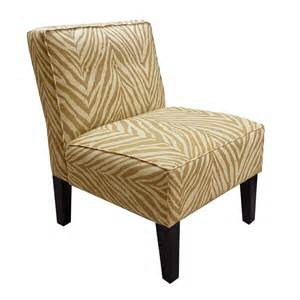 Armless Accent Chair Skyline Furniture 5805 Armless Button Accent Chair Atg Stores