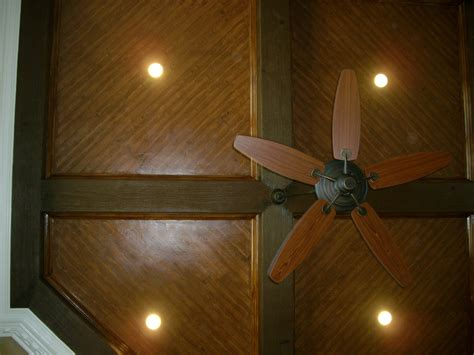 Wood Ceiling Finishes Trompe L Oeil More Than Murals