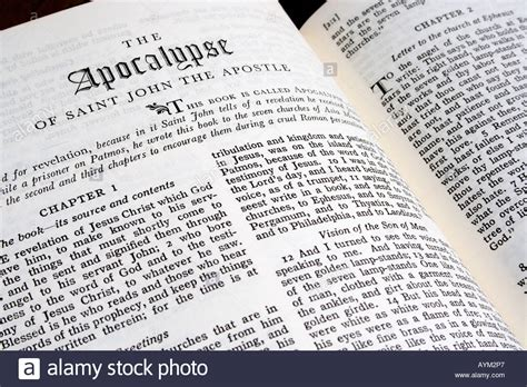 two minutes in the bible through revelation a 90 day devotional books apocalypse book of revelations bible text stock photo