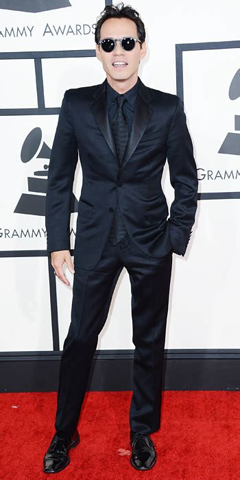 Marc Anthony Buys 26m Earrings To Thank For by Marc Anthony Grammys 2014 Carpet Arrivals Instyle