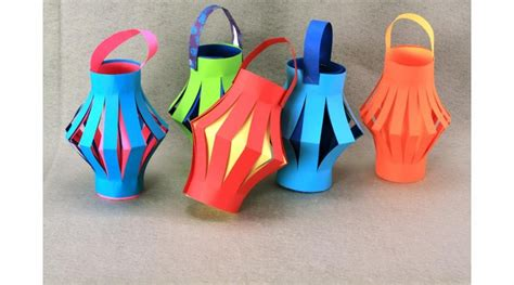 How To Make Paper Lanterns - paper lanterns jump