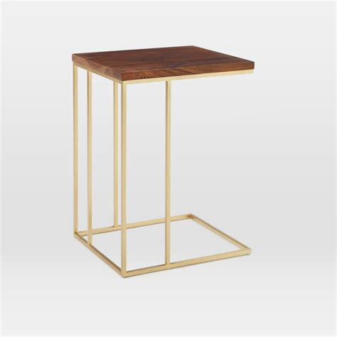 Brass Side Table 15 Statement Gold Side Tables Available Now Akwisombe