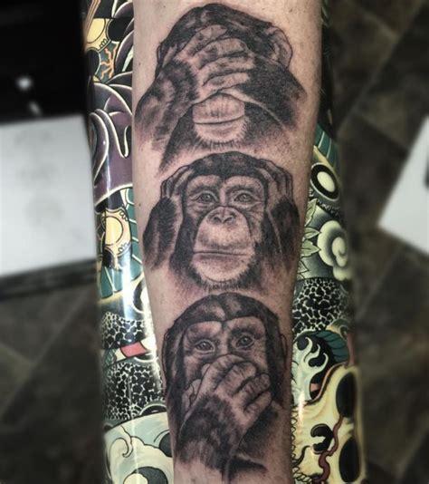 29 affe tattoo ideen bilder und bedeutungen