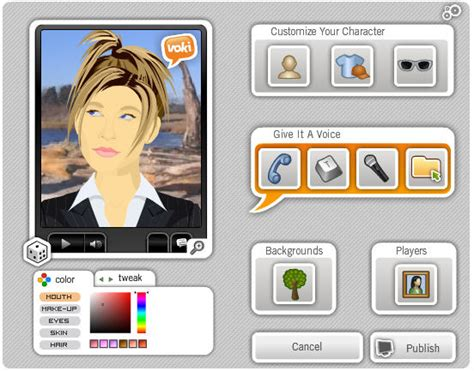 make a avatar create your own animated avatar with voki
