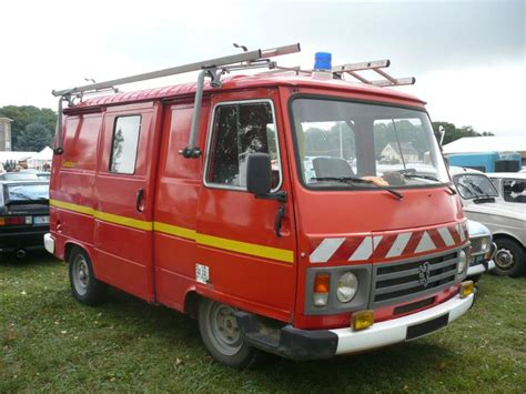 peugeot fire 155 best classic fire fighting vehicles of france ancien