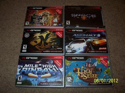 complete nokia n gage cib game collection full worldwide image gallery n gage games