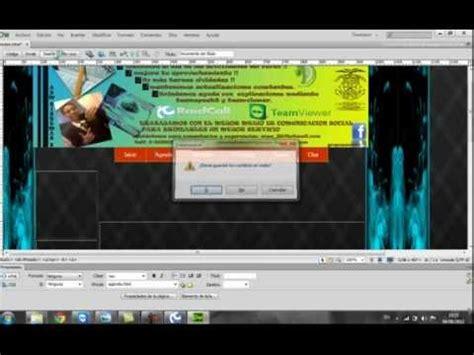 tutorial pagina web en dreamweaver crear pagina web con dreamweaver cs6 youtube