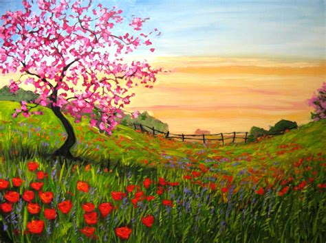 easy wallpaper easy landscape paintings wallpaper