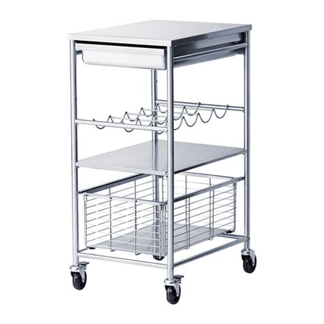 Folding Island Kitchen Cart by Peonies And Orange Blossoms Kitchen Carts