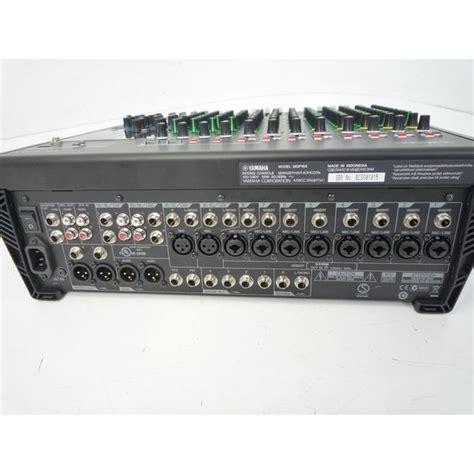 Mixer Yamaha Mgp16x yamaha mgp16x 16 channel mixing console analogue mixer