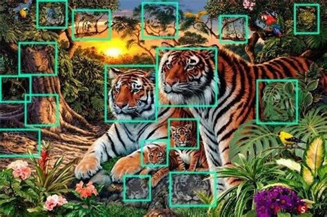 How Many Find How Many Tigers Puzzlersworld