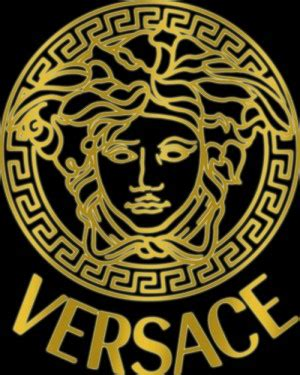 logo versace black versace logo quotes quotesgram