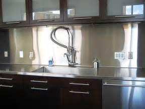 Kitchens With Stainless Steel Backsplash by Complete Pictures Of Finished Kitchen Backsplash Modern