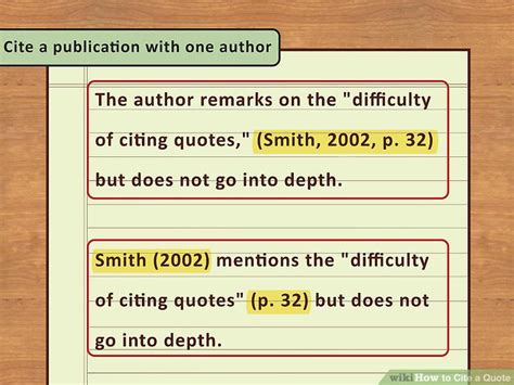 corrected a counter quotation book books 4 easy ways to cite a quote with pictures wikihow