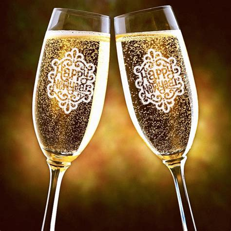stemless chagne flutes new years wine glasses 28 images new years favors