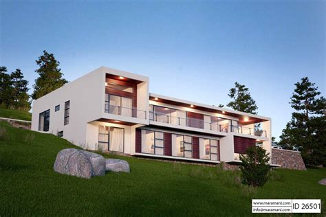 6 bedrooms house plans 6 bedroom 2 story modern house plan id 26501 house designs by maramani