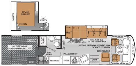 thor toy hauler floor plans demartini rv sales new and used motorhome dealer