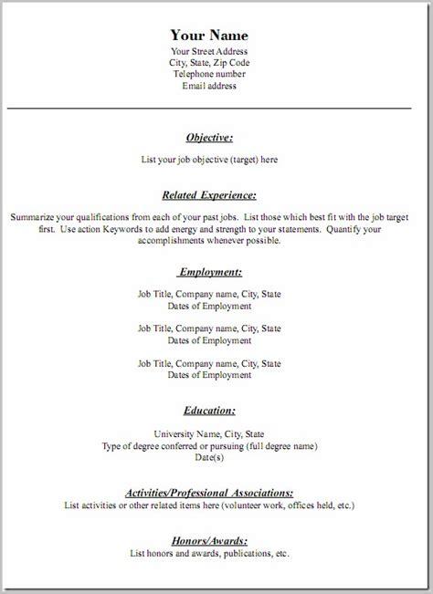 100 Free Printable Resume Templates Resume Resume Exles Drq8nm4b27 Savable Resume Templates