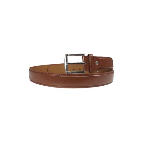36 units of light brown fashion belt genuine leather