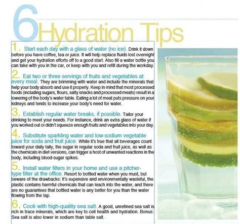 3 hydration tips 6 ways to stay hydrated in summer health tips