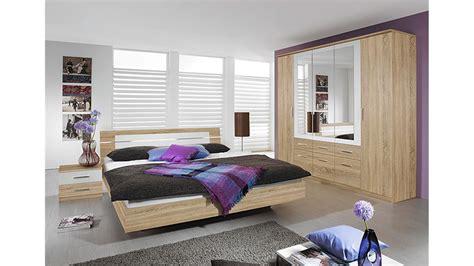 schlafzimmer set eiche schlafzimmer set burano in sonoma eiche und wei 223 4 teilig