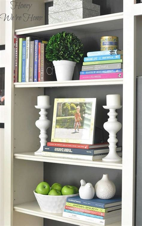 painted media cabinet bookshelf styling honey we re home
