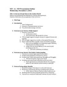 template for powerpoint outline ap v2v presentation detailed outline