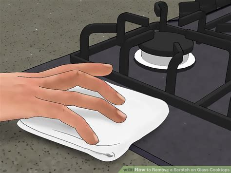 how to remove scratches from glass cooktop how to remove a scratch on glass cooktops with pictures