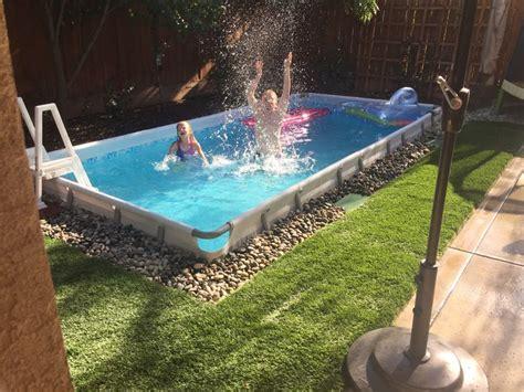 Backyard Pools Costco Best 25 Underground Pool Ideas On Http Tunnel