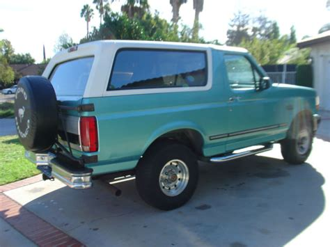 auto air conditioning service 1993 ford bronco parental controls 1994 ford bronco xlt ca truck 1992 1993 1995 1996 for sale photos technical specifications