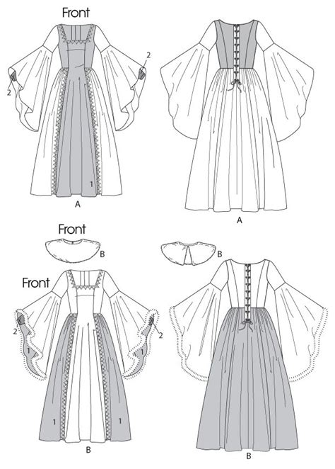 pattern for renaissance shirt 105 best images about renaissance sewing patterns on