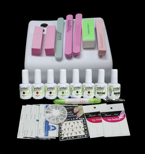 led gel manicure l gel nails home kit south africa nail ftempo