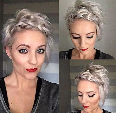tuto coiffure cheveux tres court femme coiffure simple