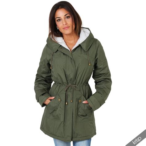 Jaket Parka Classic thermal lined soft fur parka classic anorak