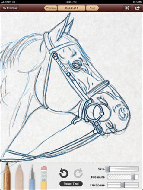 drawing tutorial sketchbook ipad learn to draw digital sketchboook ipad app review